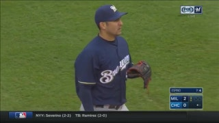 WATCH: 30-year-old Paolo Espino records first MLB strikeout