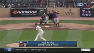 WATCH: Twins' Berrios sets career high with 11 strikeouts