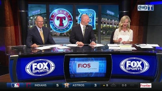 Rangers Live: Texas continues to heat up in chilly Detroit