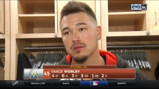 Vance Worley dissects season debut with Marlins
