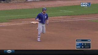 WATCH: Royals homer four times in game one against Twins