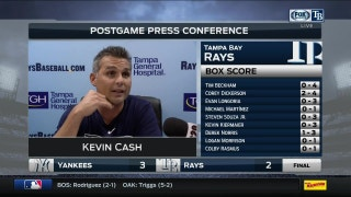 Kevin Cash: When Archer locates his fastball, this is what you get