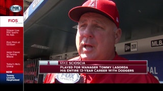 Scioscia sends his thoughts and prayers to Tommy Lasorda