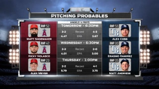 Alex Cobb takes mound for Rays in second game of series vs. Angels