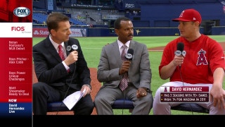 Angels Live: David Hernandez on his role in the Angels bullpen