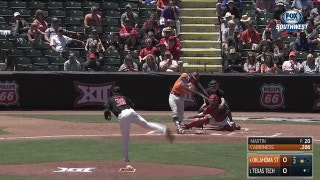 HIGHLIGHTS: Oklahoma State shuts out top-seeded Texas Tech