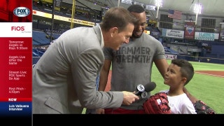 Angels Live: Luis Valbuena's son is his biggest fan; He likes Mike Trout, too
