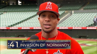 Angels Weekly: 60 Seconds of History with Ben Revere: Invasion of Normandy
