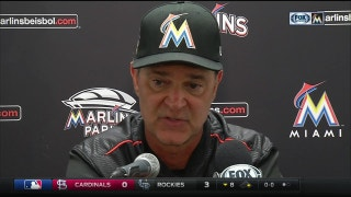 Mattingly, Marlins open long home stand with a win