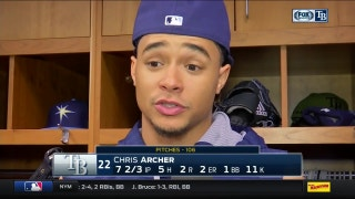 Chris Archer: If I'm giving it to Alex Colome, I can rest well