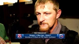 Austin Bibens-Dirkx talks early call to bullpen in loss