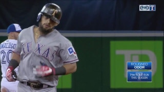 WATCH: Rougned Odor blasts 3-run home run in 9th inning