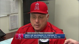 Scioscia speaks after 8-5 loss to Marlins