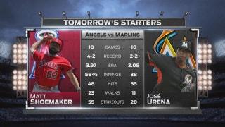 Jose Urena starts for Marlins in rubber match vs. Angels