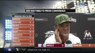 Don Mattingly liked how Marlins battled with at-bats late