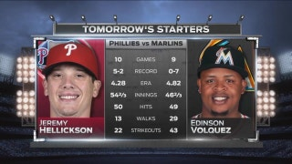 Marlins turn attention to Phillies at home stand continues