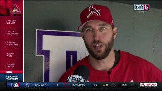 Adam Wainwright talks about his dominance at Coors Field