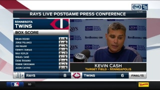 Kevin Cash says Rays plan to start Erasmo Ramirez on Monday