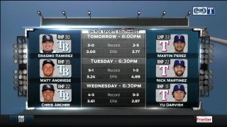 Rangers Live: Series Preview | Tampa Bay vs. Texas