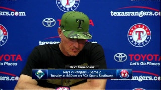 Jeff Banister on Beltre's season debut, loss to Tampa Bay