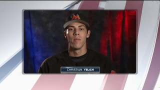Miami Marlins players pay tribute on Memorial Day