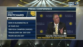 Pritchard: 'I grew up loving the Pacers'