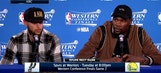 Curry, Durant talk Warriors Game 1 win over Spurs