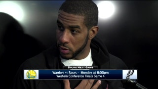 LaMarcus Aldridge: 'I just tried to pick my spots'