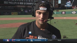 Garrett McCain on winning Big 12 Championship