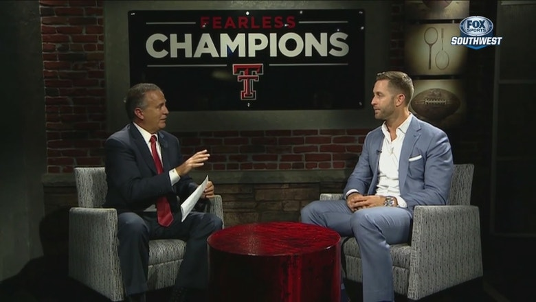 Kliff Kingsbury on Red Raiders QB depth