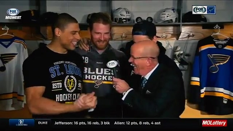 The best interviews with Ryan Reaves from '16-17 season
