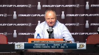 Carlyle after Game 5 loss: 'We didn't have any finish'