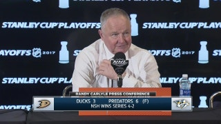 Carlyle after Ducks elimination: The effort was there