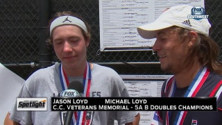 High School Spotlight: 5A Tennis State Tournament