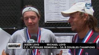 High School Spotlight: 5A Tennis State Tournament