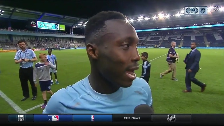 Gerso after his Sporting KC hat trick: 'I feel very, very happy'
