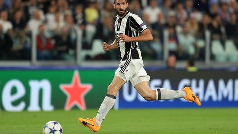 CB: Giorgio Chiellini, Juventus