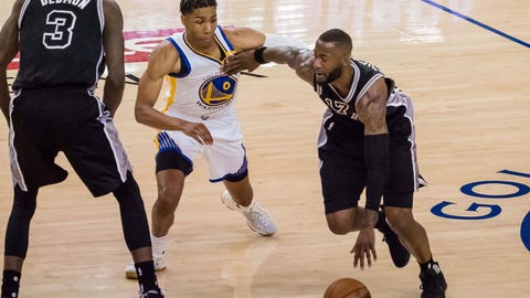 San Antonio sluggish, trails Golden State 2-0