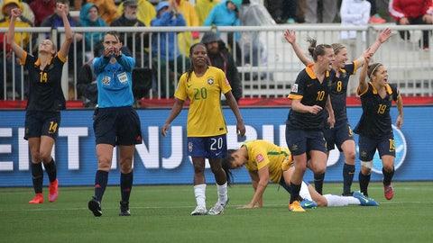 Australia vs. Brazil, Aug. 3