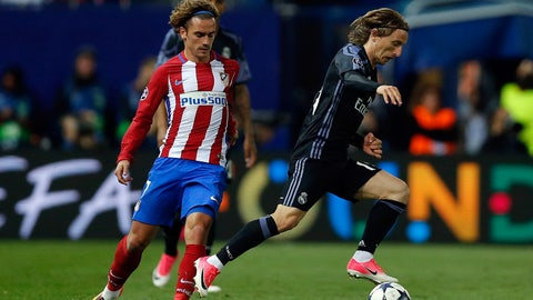 MF: Luka Modric, Real Madrid