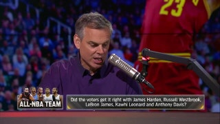 LeBron, Westbrook, Harden, Kawhi, Davis make All-NBA 1st Team - Did voters get it right? } THE HERD