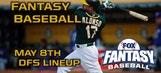 Daily Fantasy Baseball Advice – May 8
