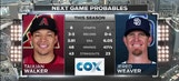 Padres vs D-Backs Preview: Weaver and Walker take the mound in Game 1