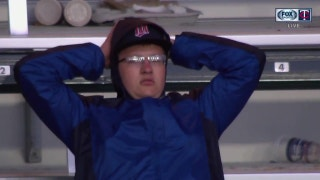 WATCH: Fan devastated after missing home run catch receives Torii Hunter signed baseball
