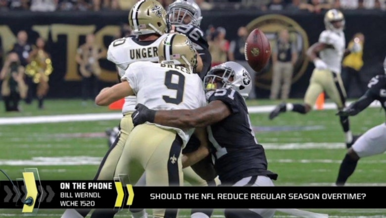 NFL likely to change overtime to 10 minutes