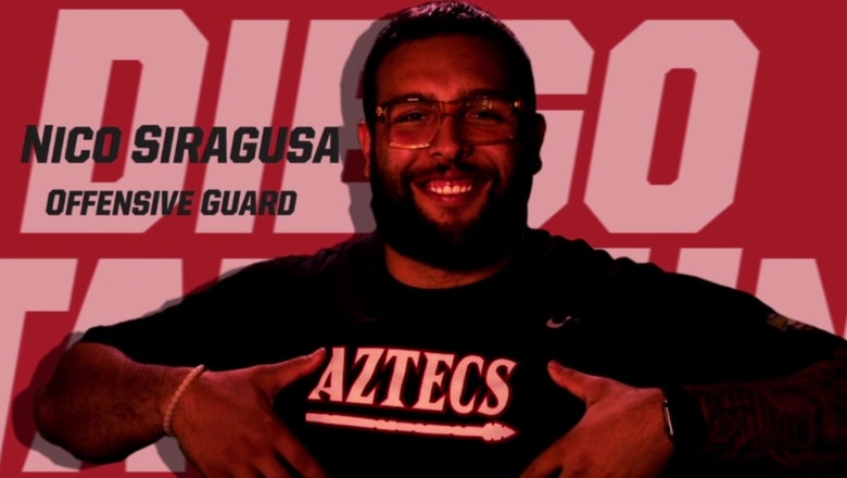 From SD to the NFL: Nico Siragusa joins the Baltimore Ravens