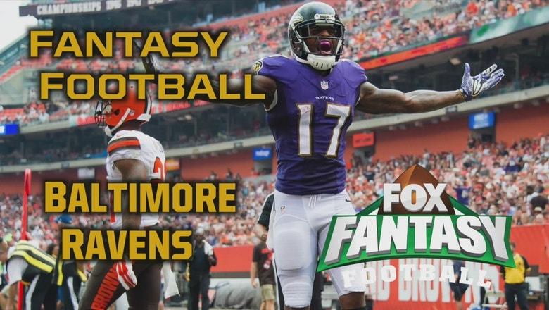 2017 Fantasy Football - Top 3 Baltimore Ravens