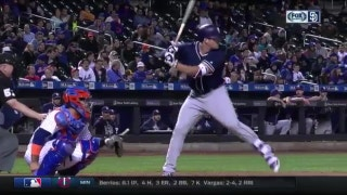 WATCH: Hunter Renfroe blasts a solo shot off the Mets