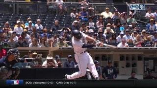 WATCH: Hunter Renfroe hits his 8th home run of the season