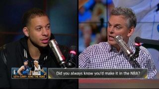 Seth Curry details his journey to the NBA | THE HERD